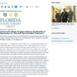 Doctors with Florida Plastic Surgery Group discuss the benefits of gynecomastia treatment and liposuction for men.